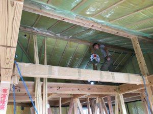 屋根断熱防湿シートの画像