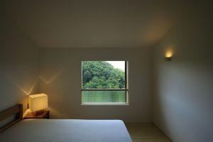 設計 堀部安嗣 施工 ダイシンビルド ヴァンガドハウス寝室の画像