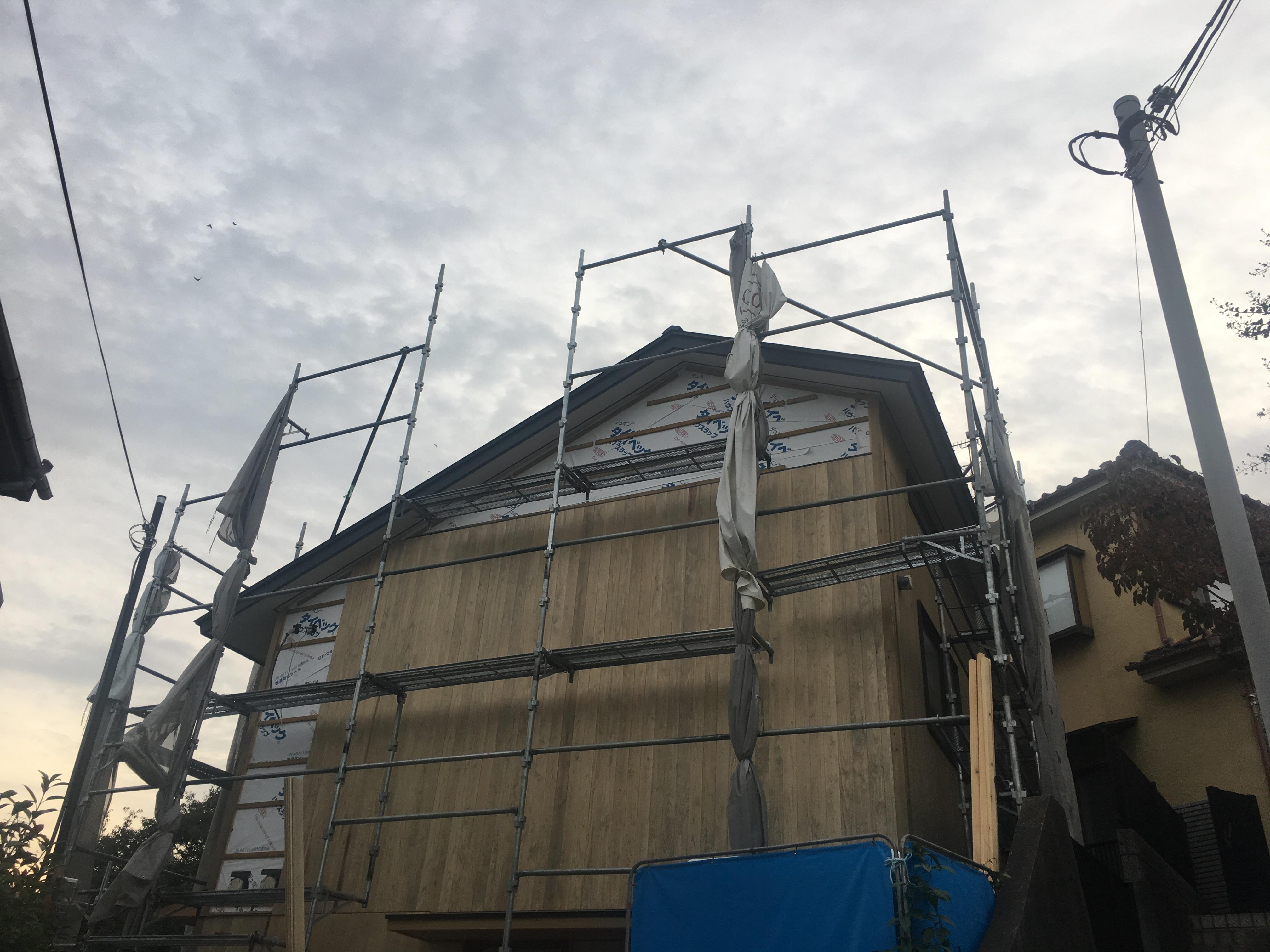 大山崎上の田の家外観17.10.01-1の画像