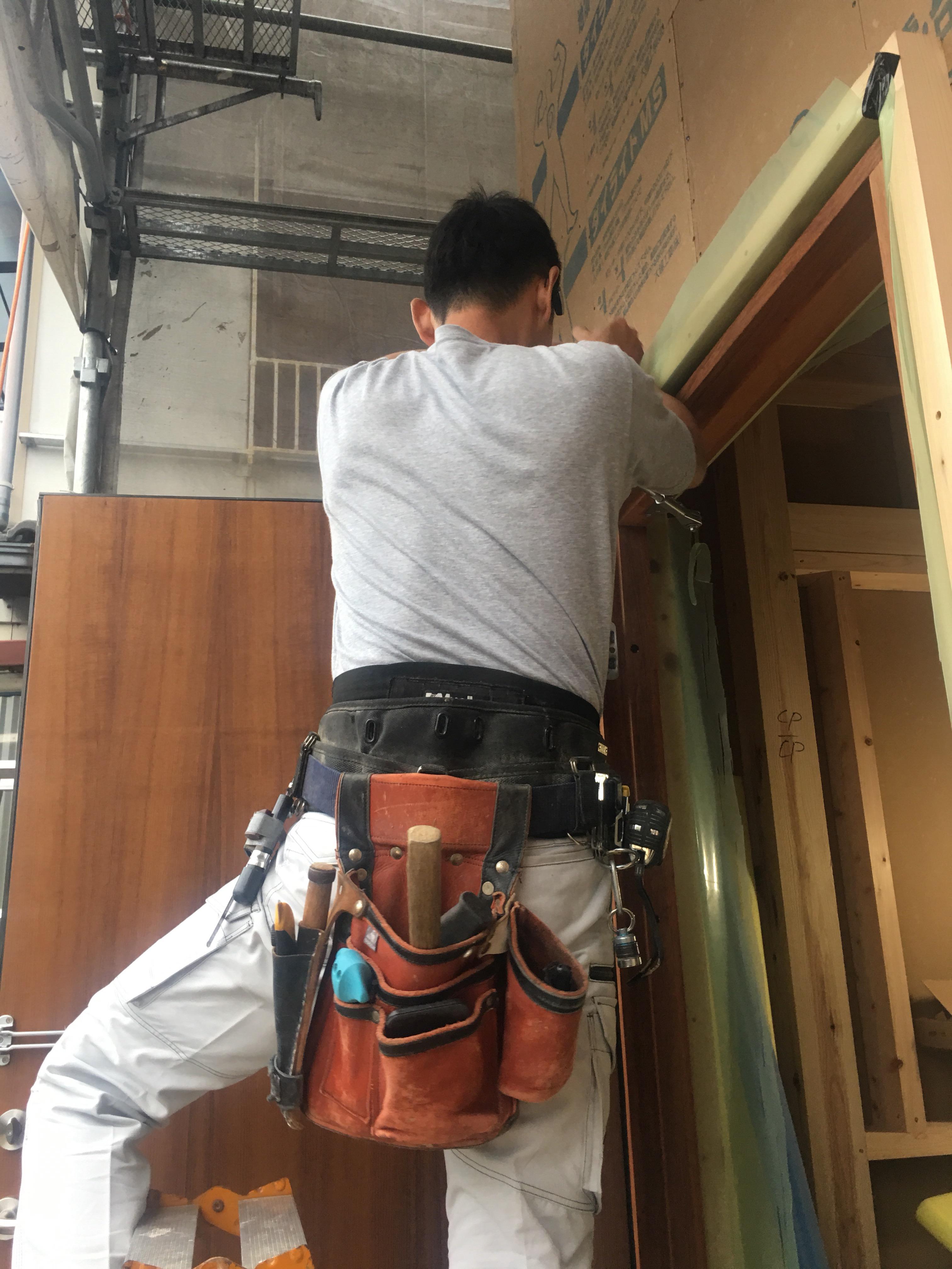Q1住宅in長岡京市 大工工事の画像