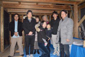吹田市佐竹台の家 上棟式2018.02.24-3の画像