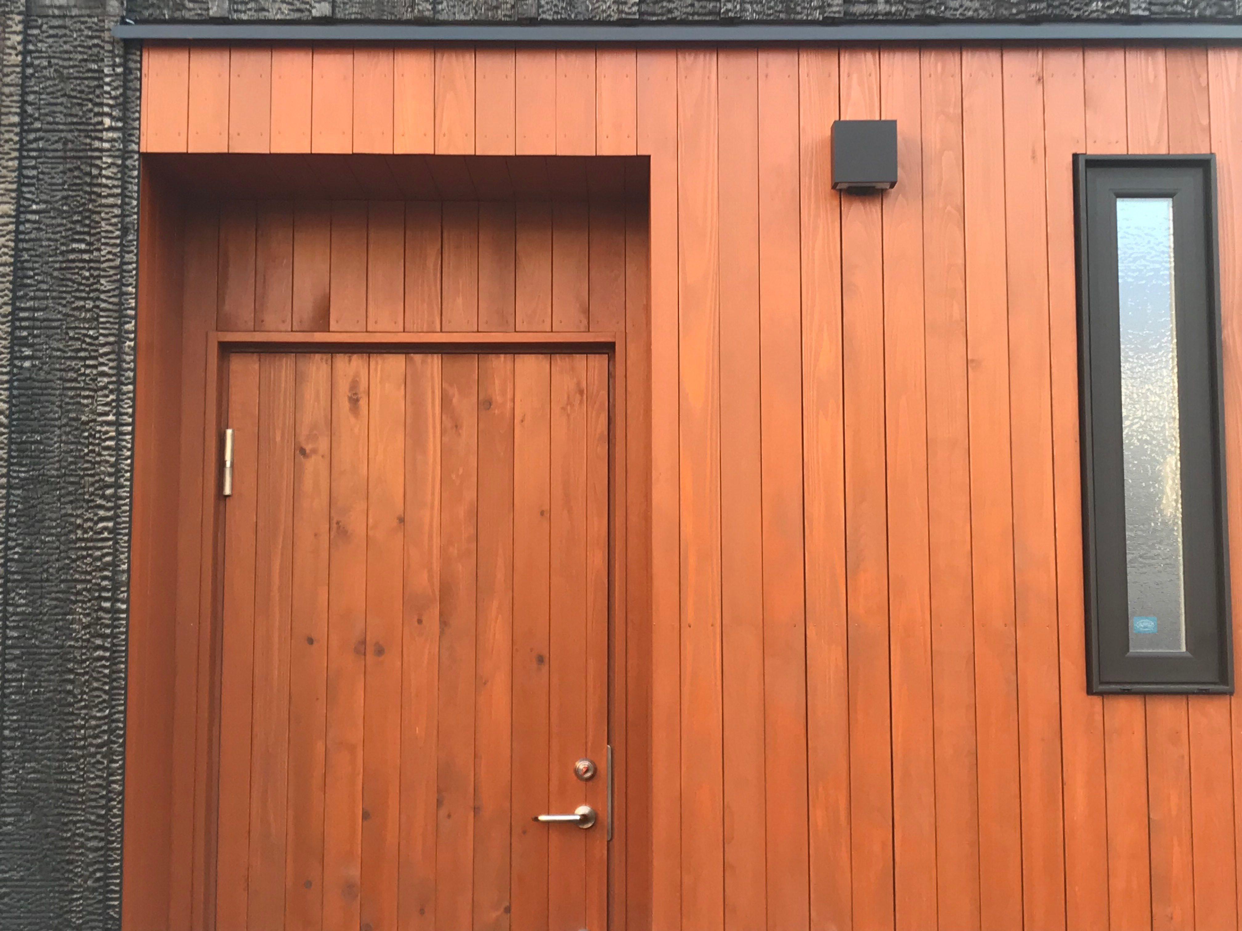 宝塚市木製玄関ドア20181028-1の画像