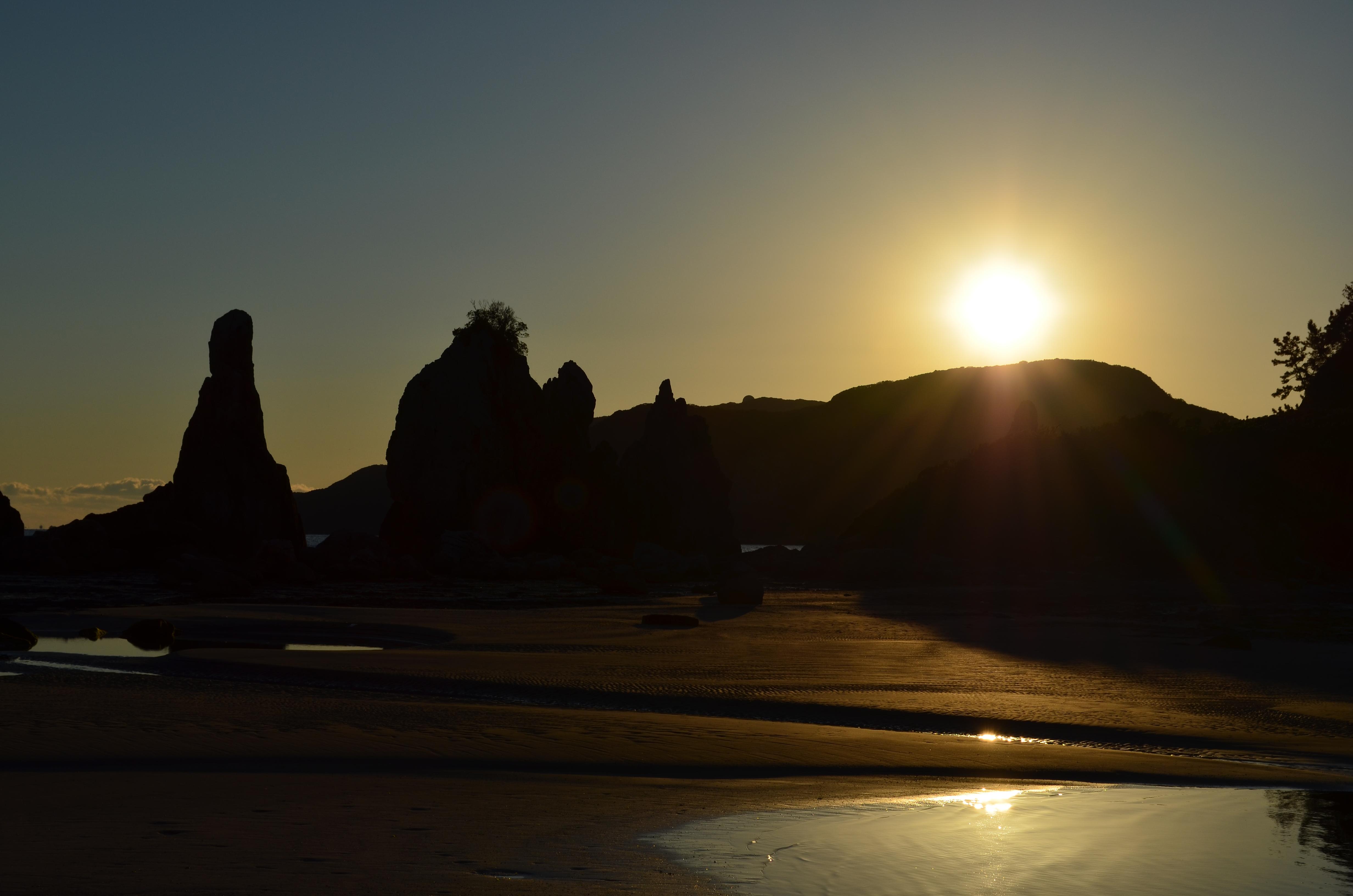 串本橋杭岩20190101-1の画像