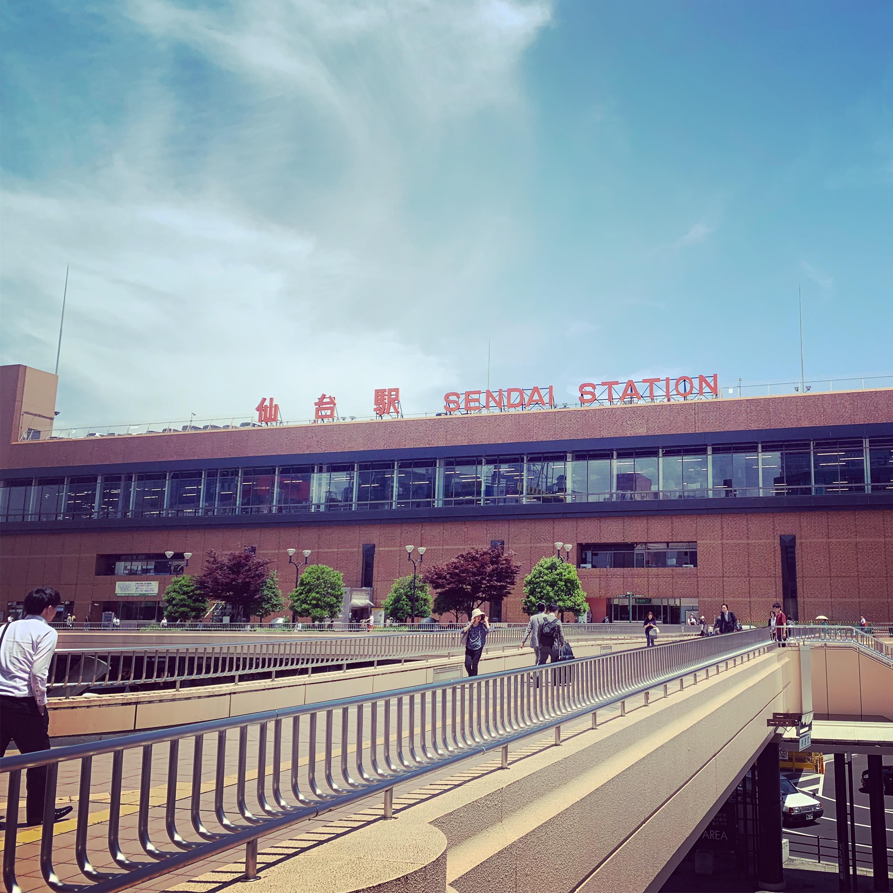 仙台駅20190625の画像