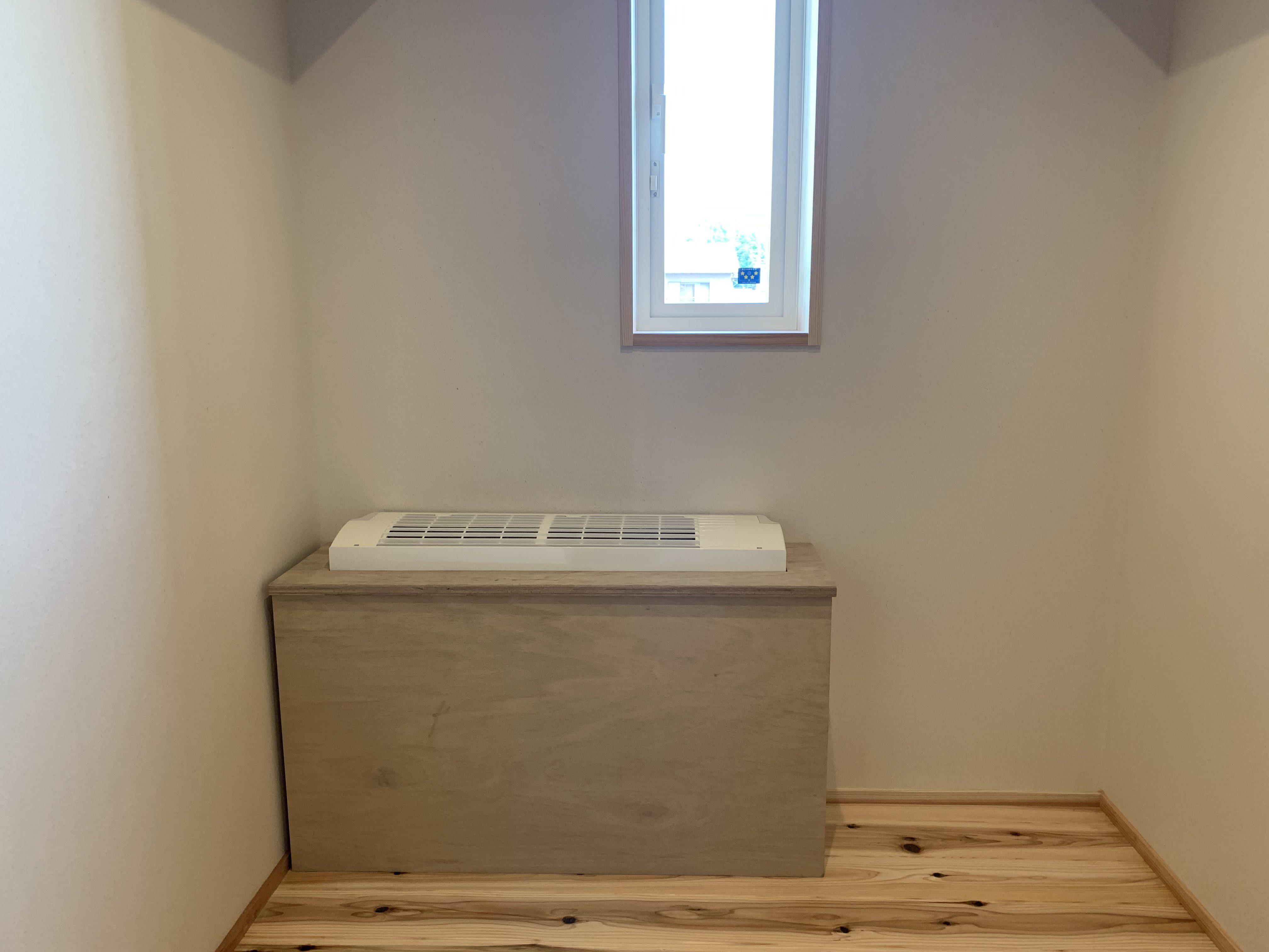 階間エアコン施工20190916の写真