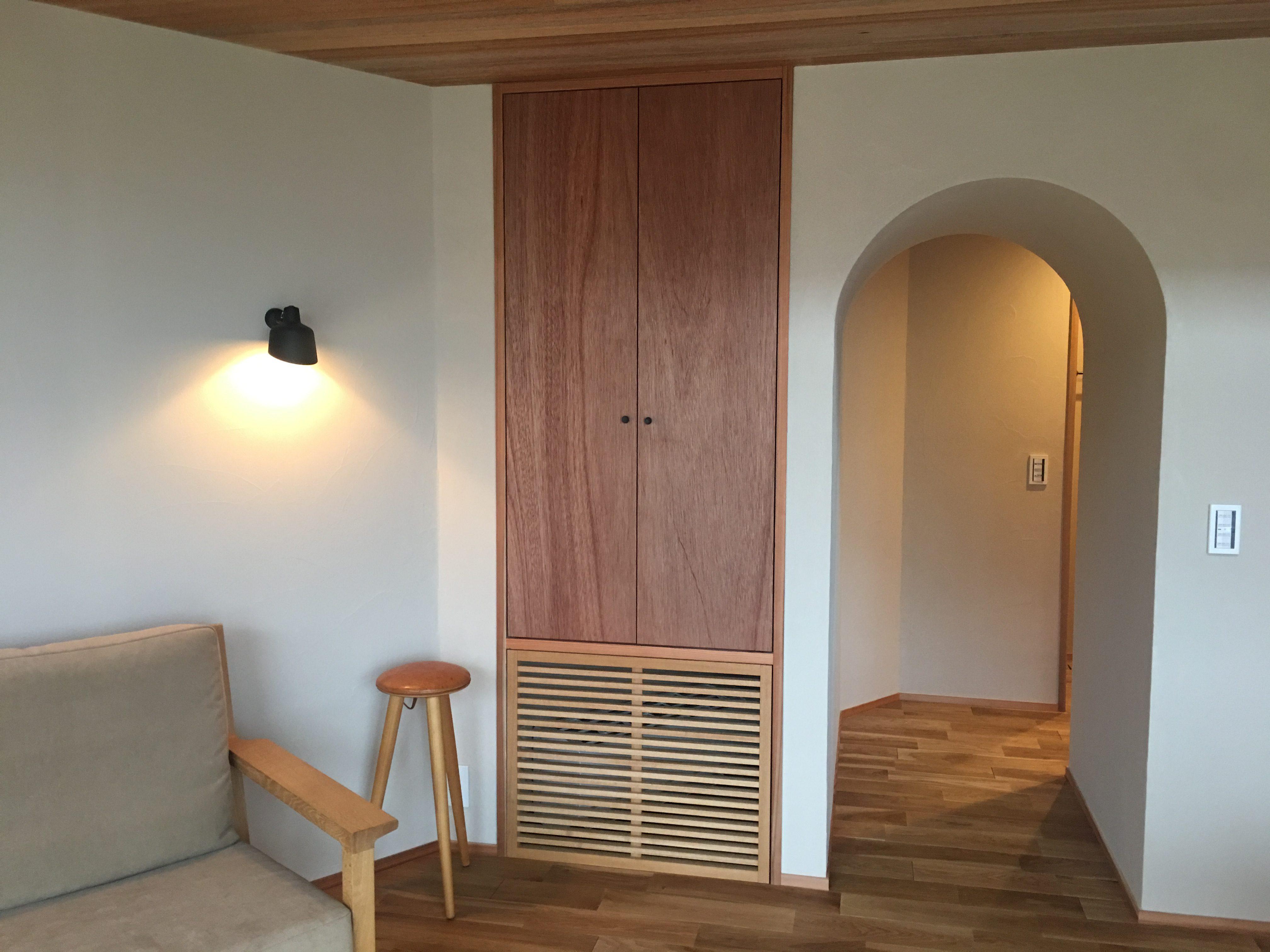 床下エアコン大山崎の写真