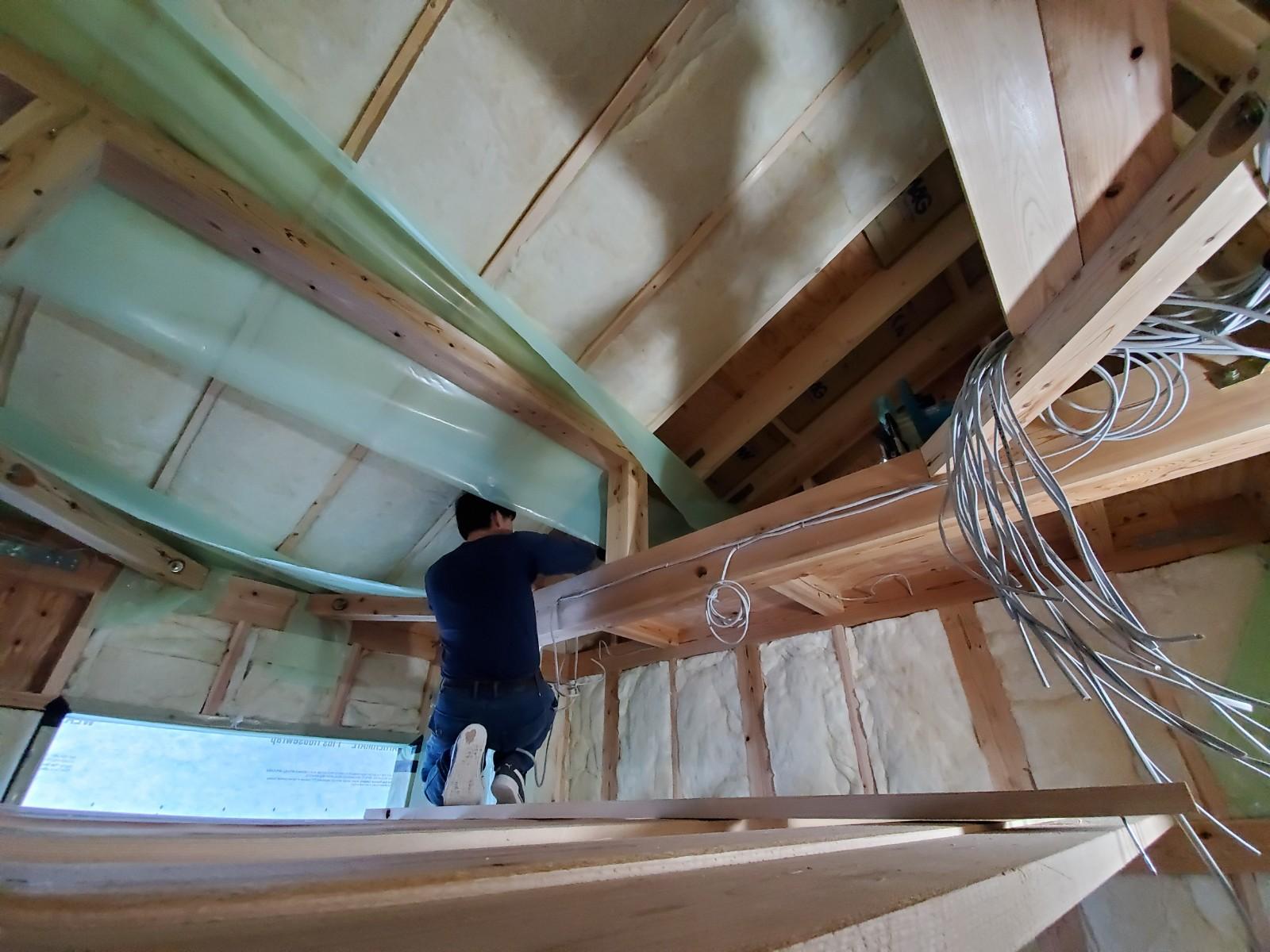 Q1住宅屋根断熱施工2020枚方の写真